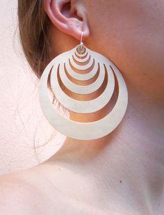 Brinco Jetsons   #rubber_jewelry #jóias_de_borracha