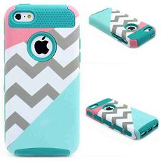 iPhone 5 Case,LUOLNH Dual Layer Hybrid Hard Plastic Fashion Outer Shell with Soft Rubber Inner Armor Defender Case Cover for iPhone 5/5S(Pink Wave Mint Style Dark Green), http://www.amazon.ca/dp/B0181QQ5H6/ref=cm_sw_r_pi_awdl_5Uy-wbH1H29YV