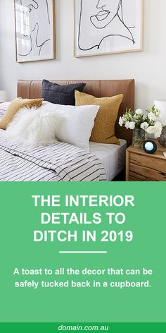There are myriad ways to express your individuality through interior design. Sometimes, though, you know when an element has had quite enough airtime and can safely be tucked back in a cupboard – until it becomes retro, and cool once more.