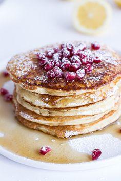 Lemon Ricotta Pancakes. - Half Baked Harvest