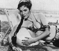 Visit the Empire in your holidays! Leia in the Sun. Behind the scenes: Star Wars by George Lucas.