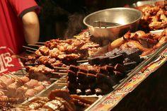 night market street food - taiwan