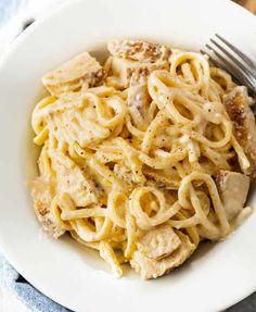 Easy Healthy Recipes, Easy Dinner Recipes, Pasta Recipes, Chicken Recipes, Cooking Recipes, Dinner Ideas, Healthy Dishes, Shrimp Recipes, Copycat Recipes