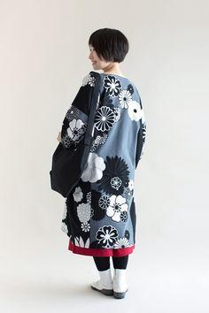 SOU・SOU着衣 高島縮 薙刀長方形衣(なぎなたちょうほうけい)- やみつきの肌ざわり