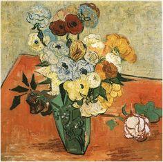 Vincent van Gogh Painting, Oil on Canvas Auvers-sur-Oise: June, 1890 Musée d'Orsay Paris, France, Europe F: 764, JH: 2045  via Van Gogh Gallery