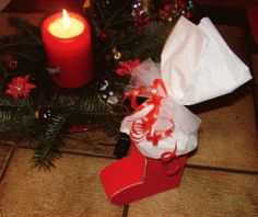 Nikolausstiefel aus Pappe basteln