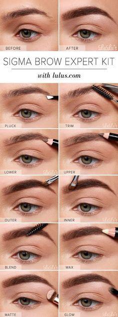 Actualiza tus cejas como las de Cara Delevingne.   21 Ideas hermosas de maquillaje para cuando quieras impresionar