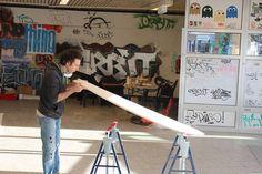 ARBO Surfboards added 18 new photos to the album: last minute board building session düsseldorf, november/december — with Langbrett Düsseldorf at Langbrett Düsseldorf.
