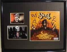 SIGNED GHOST B.C. INFESTISSUMAM CD BC PAPA EMERITUS II & ALL GHOULS RARE in Entertainment Memorabilia, Autographs-Original, Music | eBay