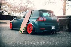 VW #stance #stanced #sickcolorcombo