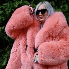 Fabulous Fox, Fox Fur Coat, Queen, Derp, Goddesses, Pink Purple, Mantel, Faux Fur, Sexy Women