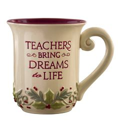 Grasslands Road Deck the Halls Teacher Mug, 12-Ounce, Set of 4 *** Check this awesome image : Coffee Cups and Mugs