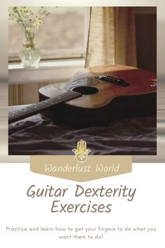 Find here some useful exercises for guitar dexterity for beginners. Practice and learn how to get your fingers to do what you want them to do!