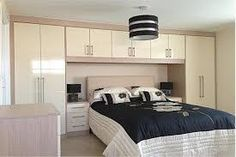 Image result for built in bedroom wardrobe cabinets around bed