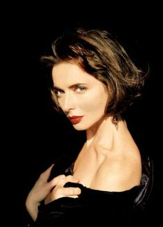 Isabella Rossellini. I love her because, well, THAT FACE, but also because she's an eccentric, intelligent, creative woman. Who married David Lynch. You have to be a pretty strange but awesome person to be married to David Lynch.