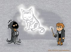 """expecto catronus"" I love the Dementor"