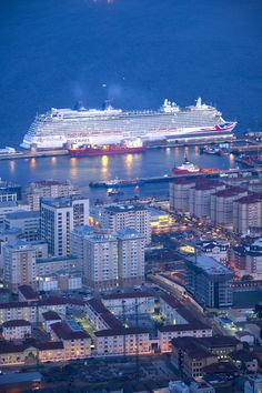 Pictured earlier this year the Britannia arriving in Gibraltar en route to her…