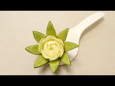 Food Artist - Best Rose Lily Flower Ideas - Advanced Lesson 19 By Mutita Fruit Veg Carving - YouTube