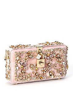Dolce & Gabbana - Embellished Velvet Clutch  This one too....