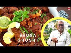 BHUNA GHOSHT RECIPE BY GRANDPA - YouTube #grandpaskitchen #83yearsoldgrandpacooking #muttonbhuna #bhunaghosht #muttonfry #muttonmasala #grandpasrecipe #traditionalbhunaghosht #muttonbhunamasala #bhunaghoshtmasala #dhabastylemuttonfry Bhuna Gosht Recipe, Cooking Recipes, Ethnic Recipes, Youtube, Food, Chef Recipes, Essen, Meals, Eten