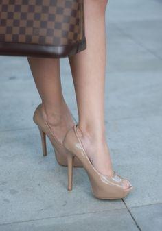 Felicity heeled sandals in sage green plait