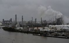 Crude dips gasoline spikes as floods knock out one-fifth of U.S. refineries