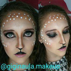 ::Deer:: Maquillaje de Fantasía con Aqua Color de @kryolanecuador @kryolanofficial #giginaulamakeup #deer #venado #nature #bigeyes #halloween #halloweencostume #kryolan #kryolanhalloween #aquacolor #makeupecuador #maquillajeecuador #maquillajeprofesional #fantasy #maquillajedefantasia #makeupartistsworldwide #makeupandmakeup #makeuplover #makeup #lovemyjob