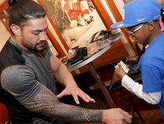 "197 Likes, 1 Comments - Roman Reigns-One Versus All (@romanreignsonevsall) on Instagram: ""#RomanReigns grants a wish in Detroit"""