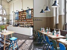 北歐風格館 Joanna Laajisto Creative Studio將芬蘭的一間舊市場 翻新成餐廳