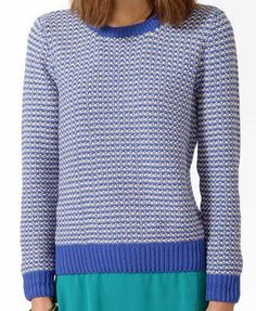 Textured Duo-Toned Sweater | FOREVER 21 - 2021840899