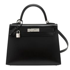 9232cbe2dd15 Hermes X Stamp Unicorn Black Box 28cm Sellier Palladium Hardware Kelly Bag