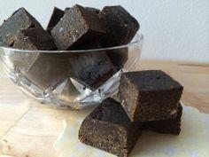 Raw lakritsfudge med smak av sött och salt