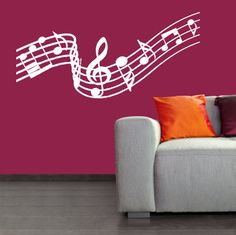 Hey, I found this really awesome Etsy listing at https://www.etsy.com/listing/73372521/wall-decal-music-notes-wall-decal-art