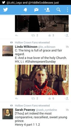 Tom Hiddleston - King Henry V - BBC Shakespeare Drama 2012 ' Hollow Crown Henry IV Part Two '