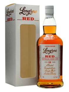 Longrow is the peaty whisky produced at Springbank distillery. This whisky has been aged for 6 years in refill bourbon barrels and then finished for 5 years in Australian Shiraz barrels, appropriat...