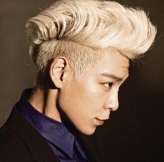 Big Bang T.O.P. Blonde Faux Hawk