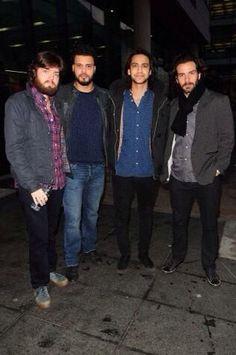 Tom, Howie, Luke & Santi from Jan 17th 2014's interview on the BBC Breakfast show