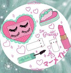 ♡ Kitty Mermaid Make Up ♡