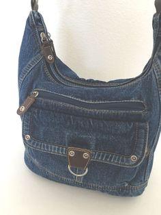 Jeans Denim Bag Messenger Crossbody  Designer Fashion Hip Boho Trendy #Unbranded #MessengerCrossBody