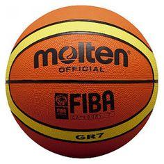 Molten FIBA Replica Rubber Basketball, Size: Size 5