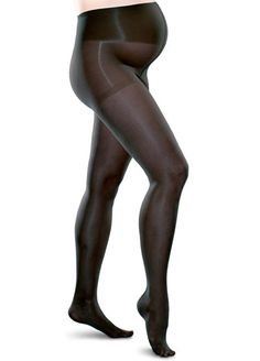 Queen Bee Gradient Compression Maternity Pantyhose in Black by Preggers Compression Pantyhose, Compression Stockings, Drip Dry, Queen Bees, Maternity, Black, Black People, Queens