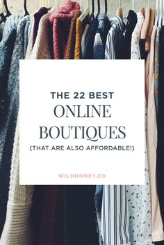 The 22 Best Online Boutiques to Buy Clothes – WILD HONEY Source by leahgeske clothes boutique Clothing Sites, Womens Clothing Stores, Clothes For Women, Clothing Websites For Women, Woman Clothing, Cheap Boutique Clothing, Womens Clothes Shopping, Clothes For Cheap, Best Clothing Apps