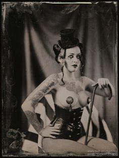 Dark Circus by Andrey Sherstiuk Old Circus, Dark Circus, Night Circus, Vintage Circus, Vintage Photographs, Vintage Photos, Burlesque, Steampunk Circus, Nude Photography