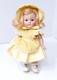 Vintage Vogue Ginny Doll 1950 Mary Lamb Mint!