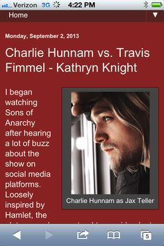 Blog post comparing Charlie & Travis http://kathrynknightbooks.blogspot.com/2013/04/charlie-hunnam-vs-travis-fimmel-kathryn.html