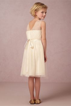 Classic and sweet flower girl's dress. Elodie Dress in New at BHLDN