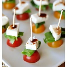 """Grown up finger food...whatever """"grown up"""" means."""