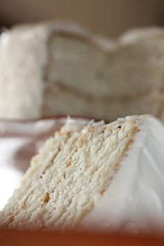 This month's installment of The Cake Slice features Southern Coconut Cake . So far, every recipe that I've made out of Sky High: Irresistib. Frosting Recipes, Cupcake Recipes, Cupcake Cakes, Dessert Recipes, Great Desserts, Delicious Desserts, Yummy Food, Yummy Yummy, Delish