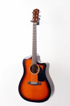 Fender CD60CE Cutaway Dreadnought Acoustic-Electric Guitar Sunburst 888365075488 | the Guitar Collectionary