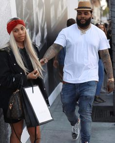 d381e8c7d90a9 Kevin Gates is spotted ahead of the weekend as he takes his wife Dreka  shopping at the Gucci store on Rodeo Drive.